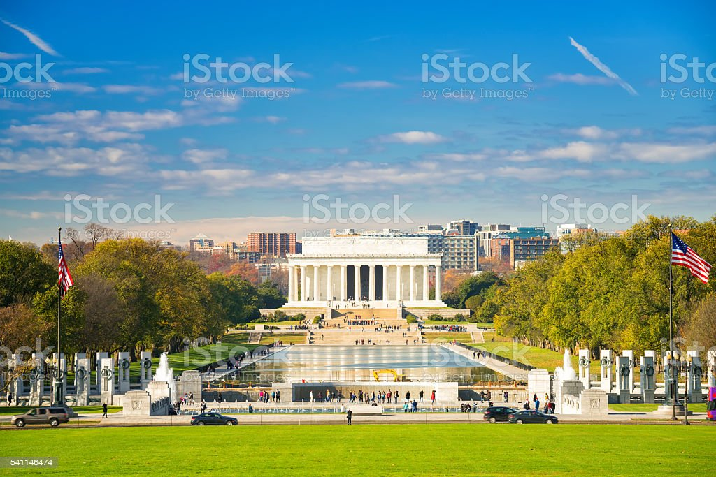 Lincoln memorial in Washington, DC – Foto