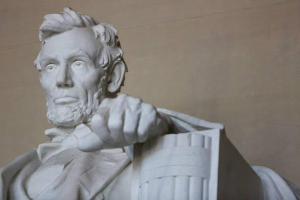 lincoln memorial em washington distrito de columbia - presidents day - fotografias e filmes do acervo