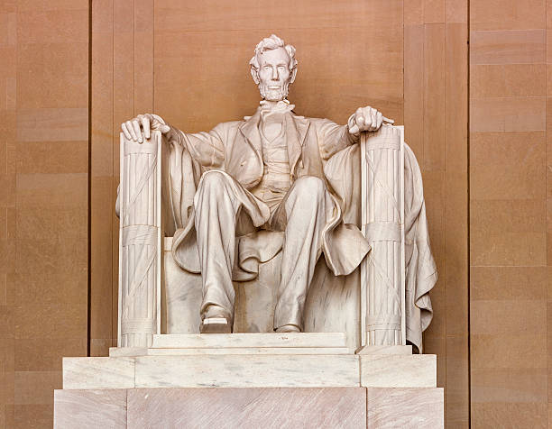 Lincoln Memorial in Washington - foto de stock