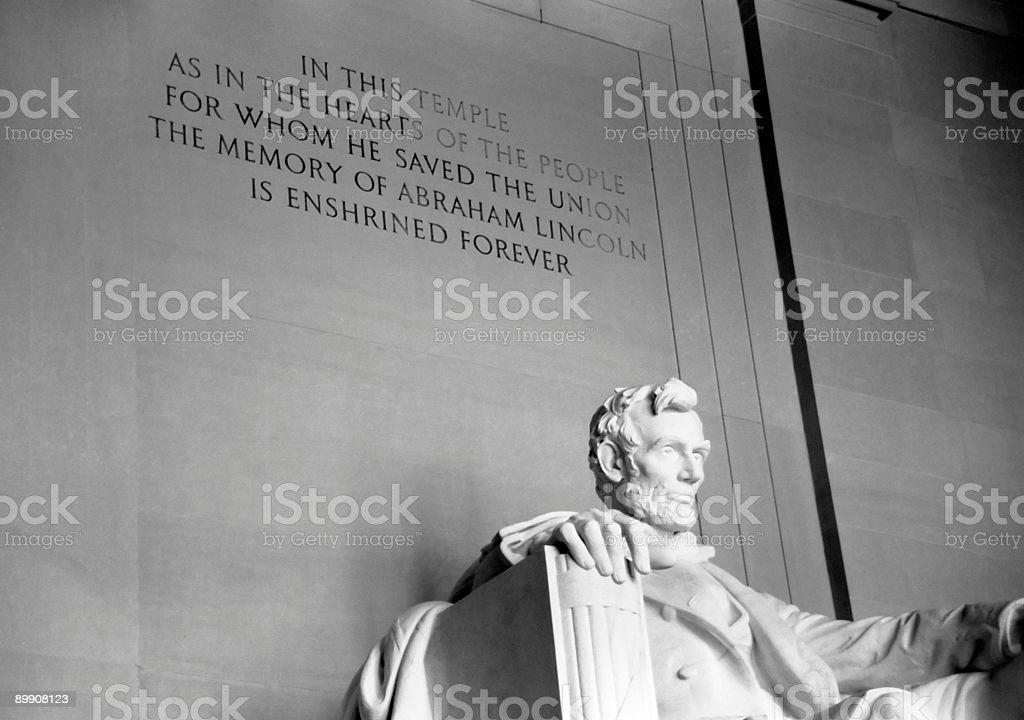 Lincoln Memorial (Horizontal) royalty-free stock photo