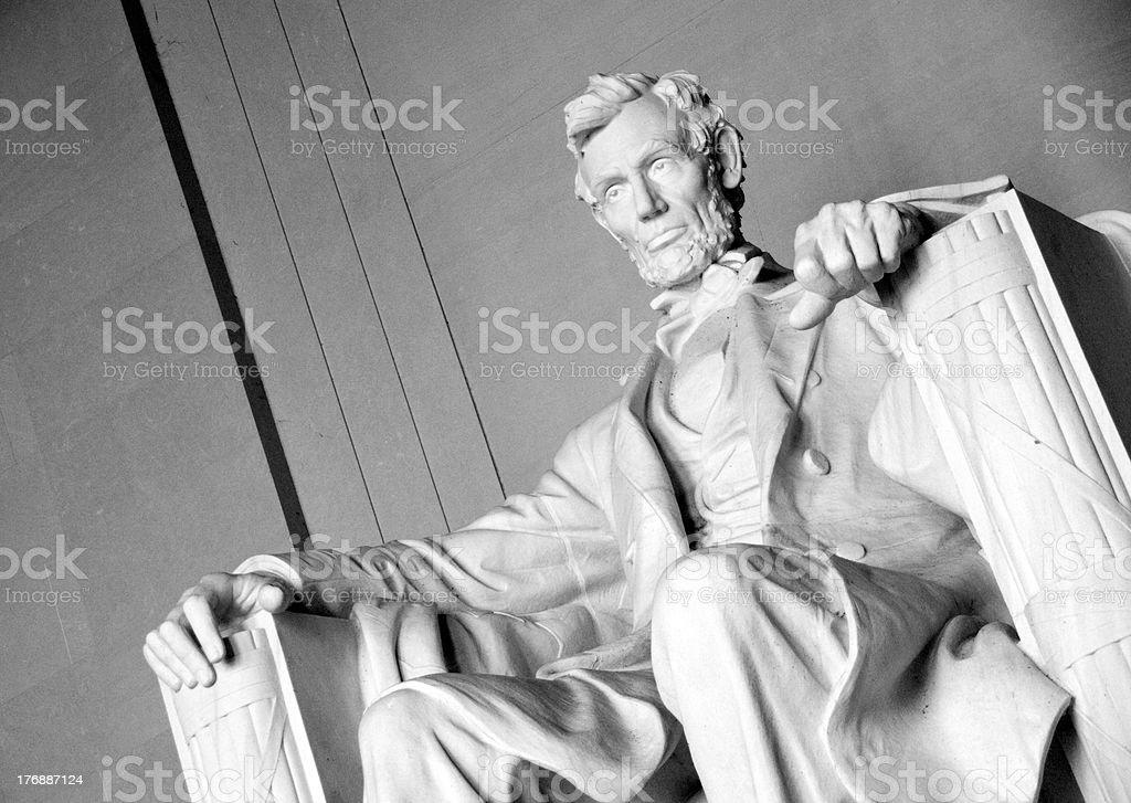 Lincoln Memorial Series, Washington D.C. royalty-free stock photo