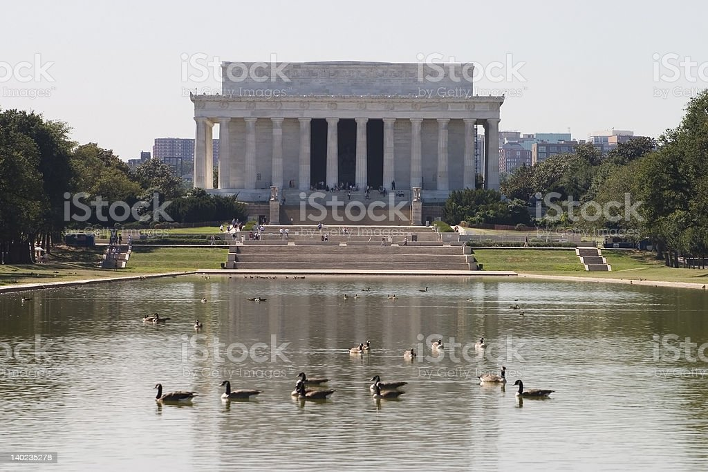 Lincoln Memorial, Washington D.C. stock photo