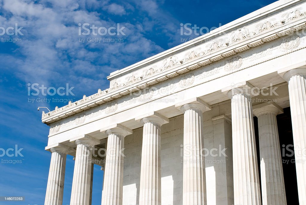 Lincoln Memorial, Washington DC royalty-free stock photo