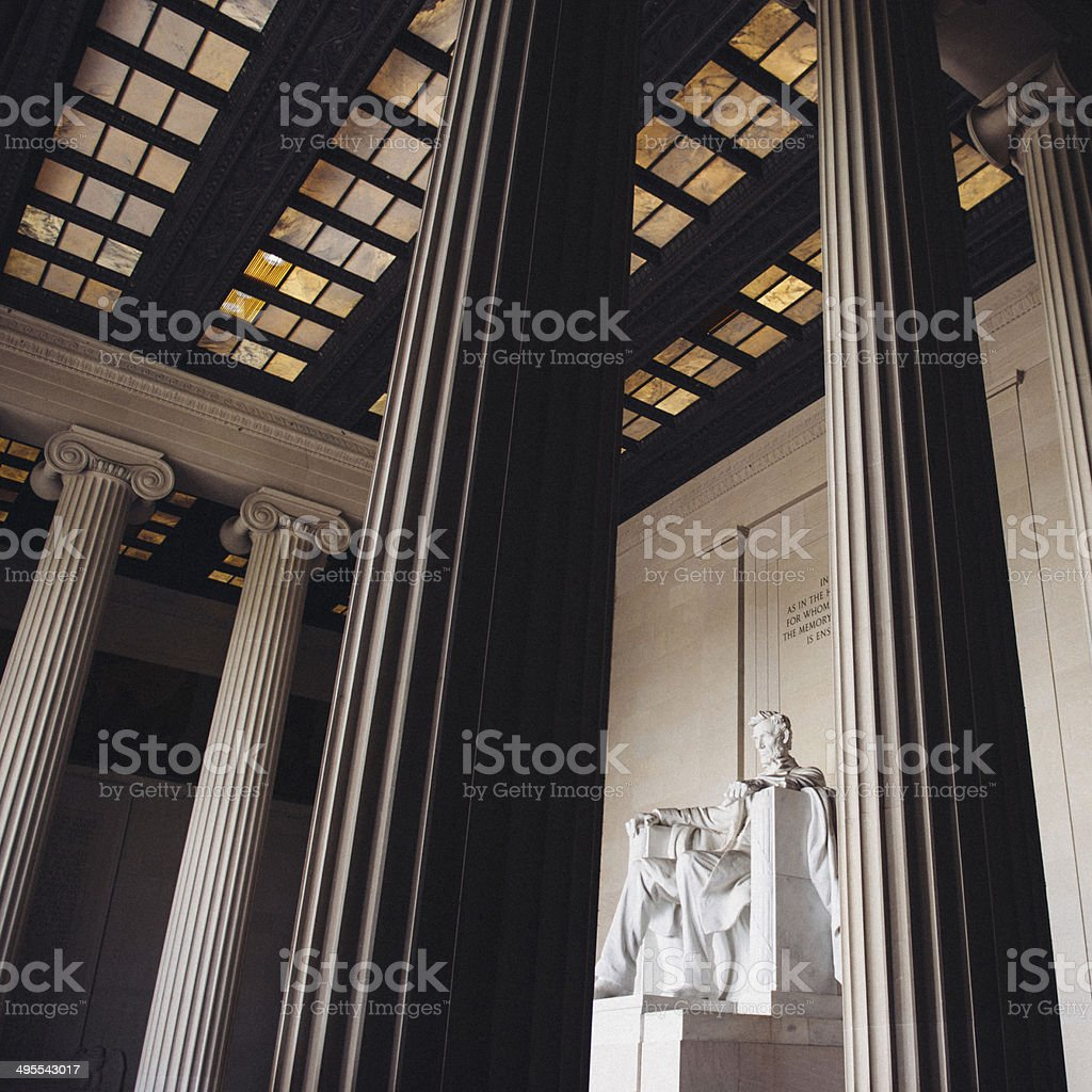 Lincoln Memorial Washington DC royalty-free stock photo