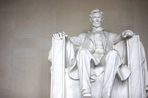 Lincoln Memorial de Washington DC - foto de stock