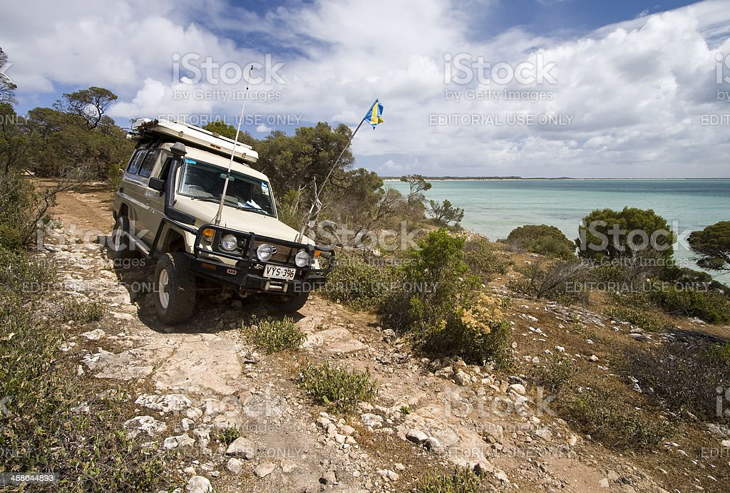 Lincoln National Park Off-Road stock photo
