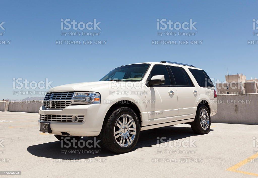 Lincoln Navigator stock photo