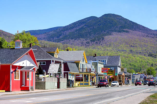 Lincoln, New Hampshire Lincoln is a town in Grafton County, New Hampshire, United States. white mountain national forest stock pictures, royalty-free photos & images