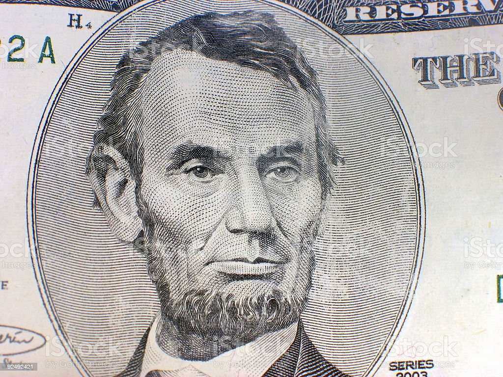 lincoln royalty-free stock photo