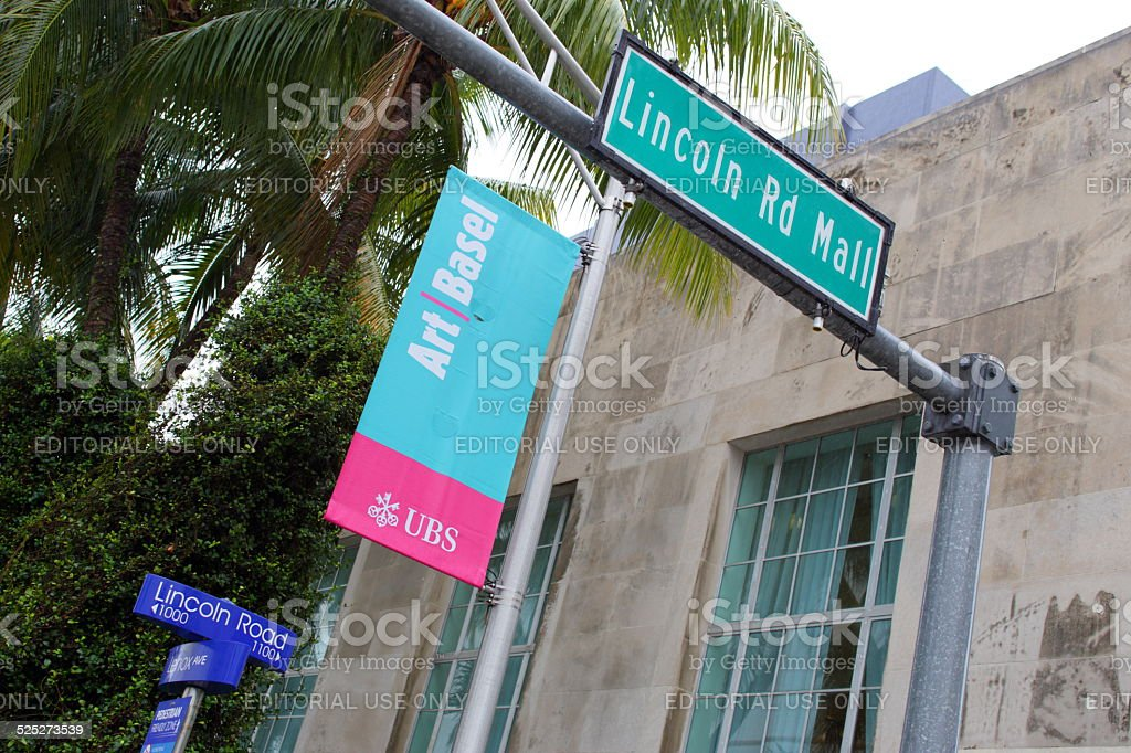 Lincoln Road und der Art Basel Miami Beach – Foto