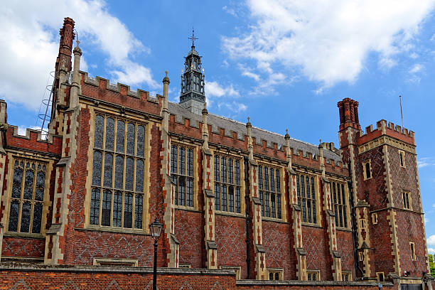 Lincoln's Inn Court in London Lincoln's Inn Court in London, UK. Honourable Society of Lincoln's Inn is one of four Inns of Court in London, to which barristers of England and Wales belong & where they are called to Bar. inn stock pictures, royalty-free photos & images