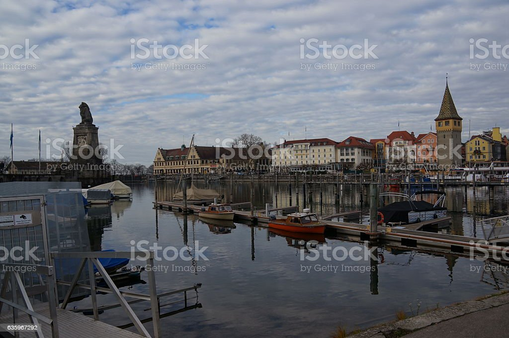 Lindau In Winter Stock Photo More Pictures Of Bavaria Istock