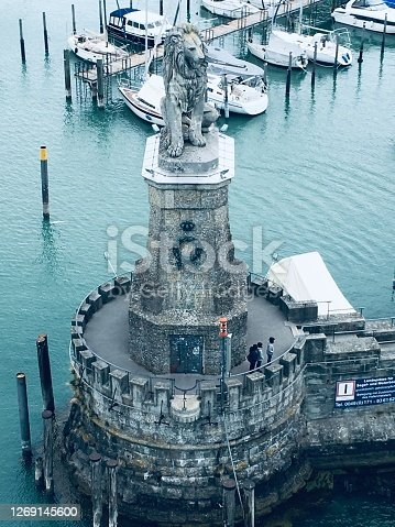 istock Lindau is a major town and island on the eastern side of Lake Constance (Bodensee in German) in Bavaria, Germany. 1269145600