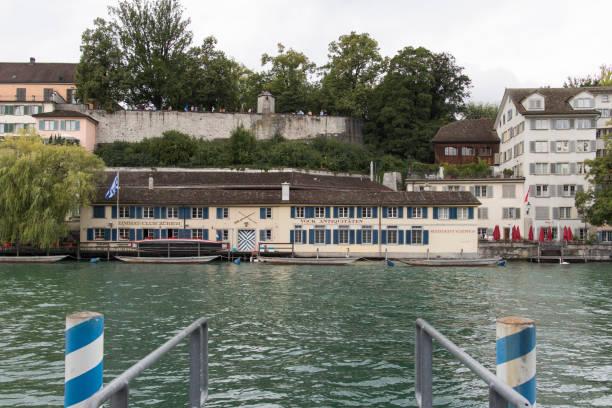 lindenhof - zurigo foto e immagini stock