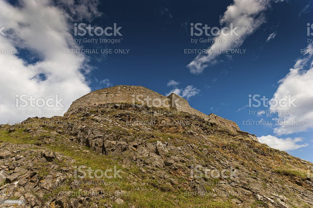 Lindisfarne Castle royalty-free stock photo