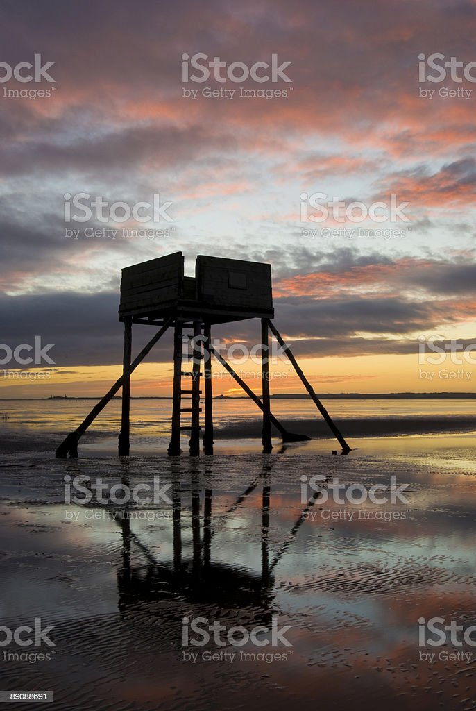 Lindisfarne, Northumberland royalty-free stock photo