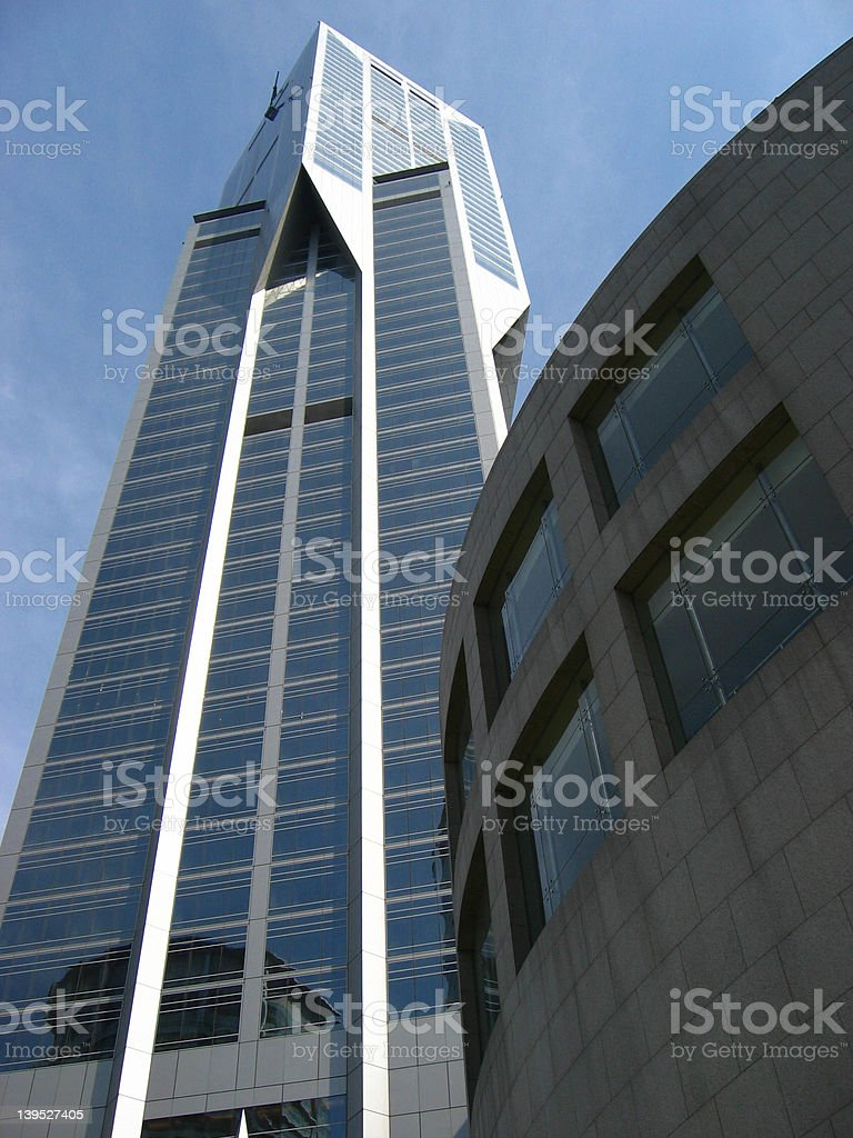 line and curve royalty-free stock photo