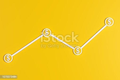 istock Line graph concept 1075373484