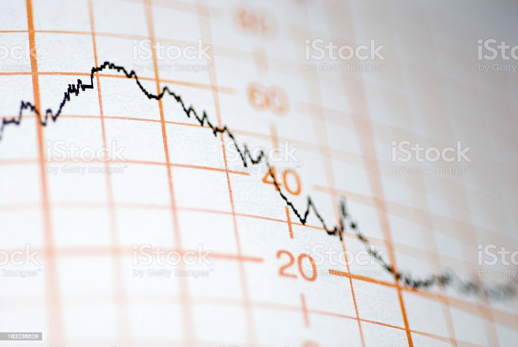 Line Graph#1 royalty-free stock photo