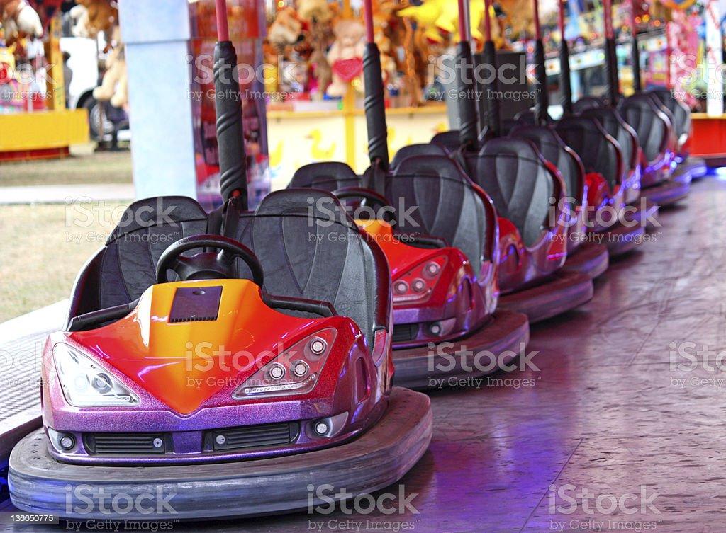 Fun Fair Amusement Fahrt. – Foto