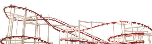 línea de red montaña rusa rail - roller coaster fotografías e imágenes de stock