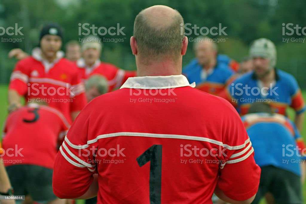 Line out royalty-free stock photo