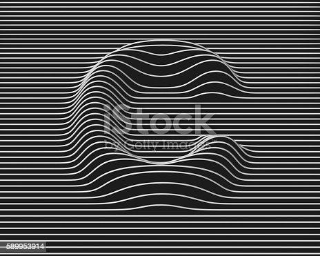 istock linear 3d font letter C 589953914