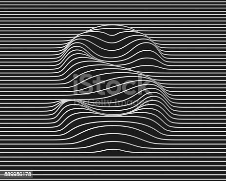 istock linear 3d font letter S 589956178