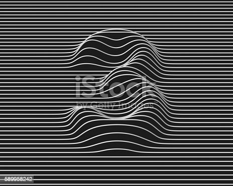 istock linear 3d font number 3 589958242