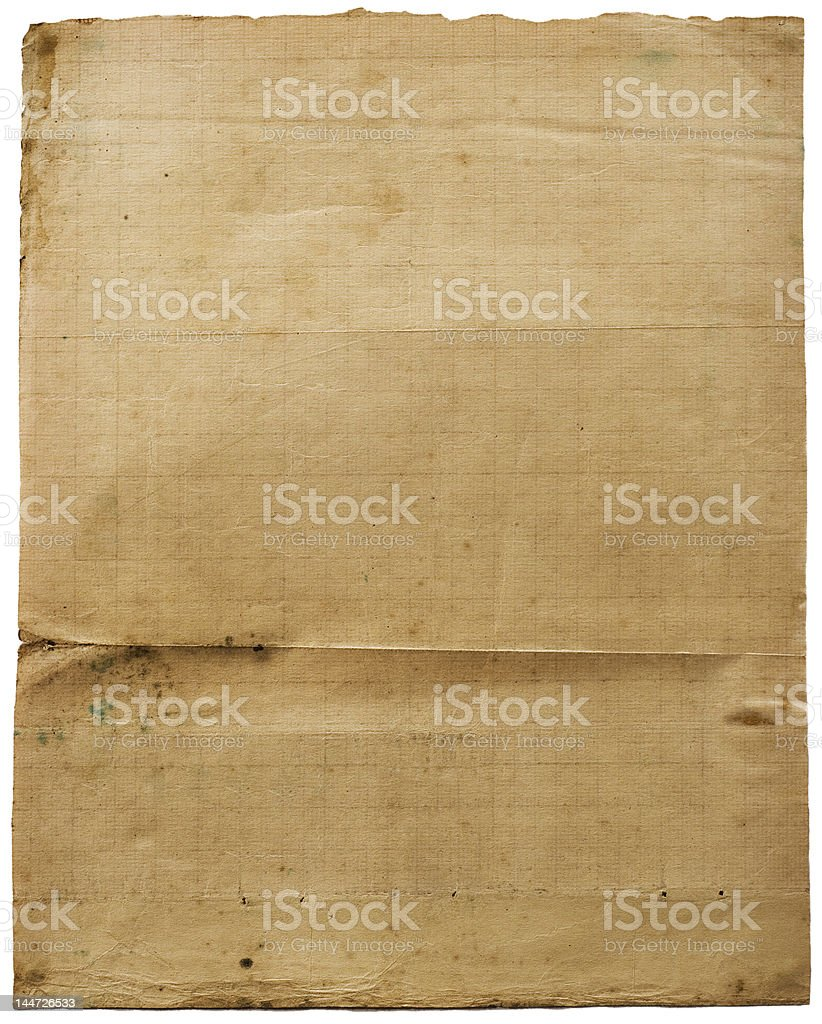 Lined grunge paper royalty-free stock photo