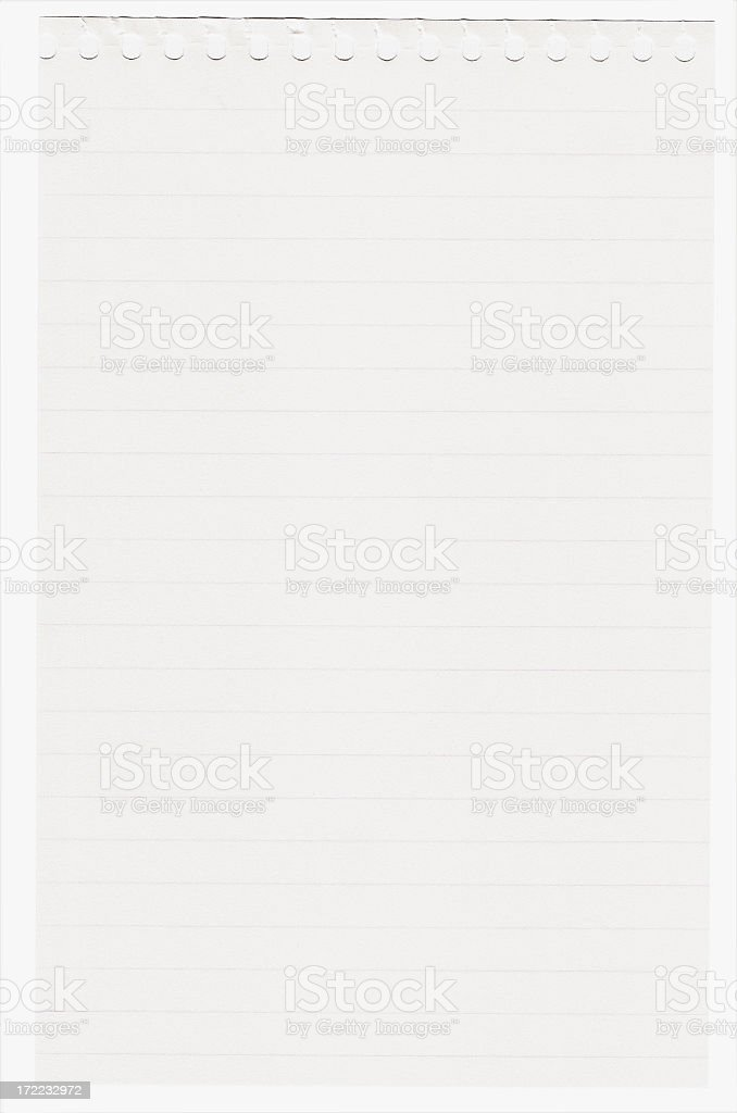 Lined paper royalty-free stock photo