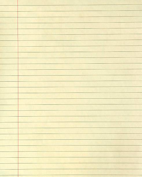 lined yellow paper - linjerat papper bakgrund bildbanksfoton och bilder