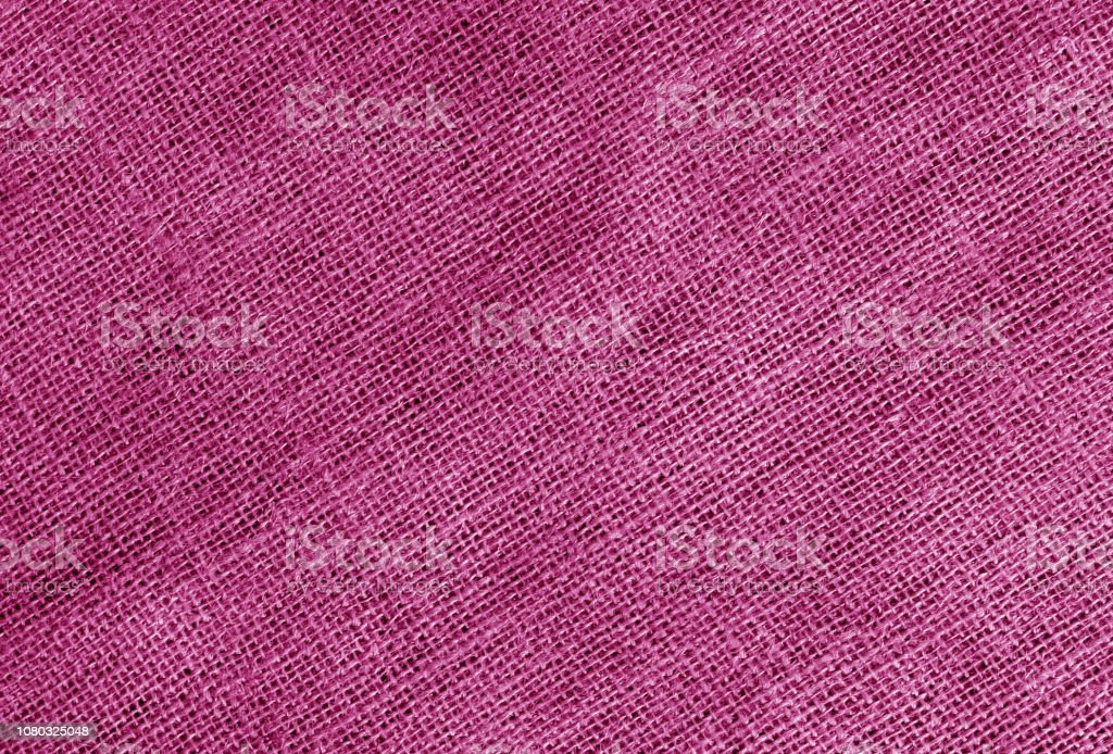 Linen cloth texture in pink color. Abstract background and texture...