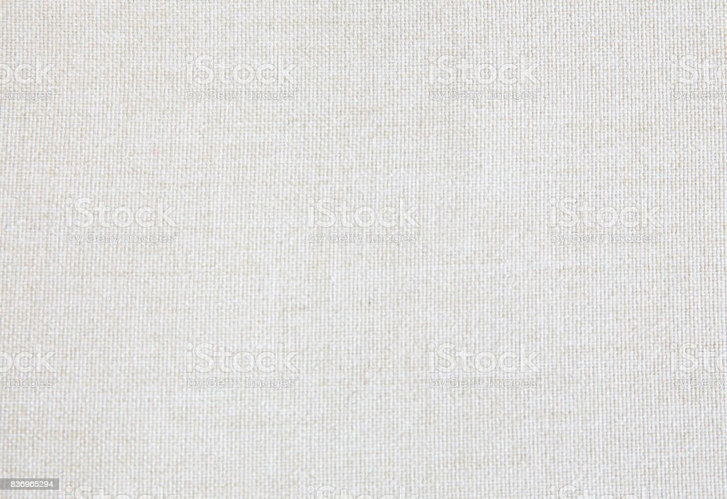 Linen fabric Textured backgrounds stock photo