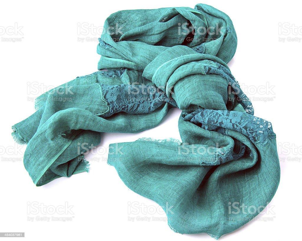 Linen scarf stock photo