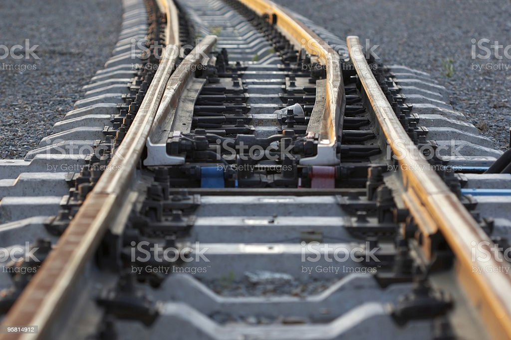 lines in nowhere royalty-free stock photo