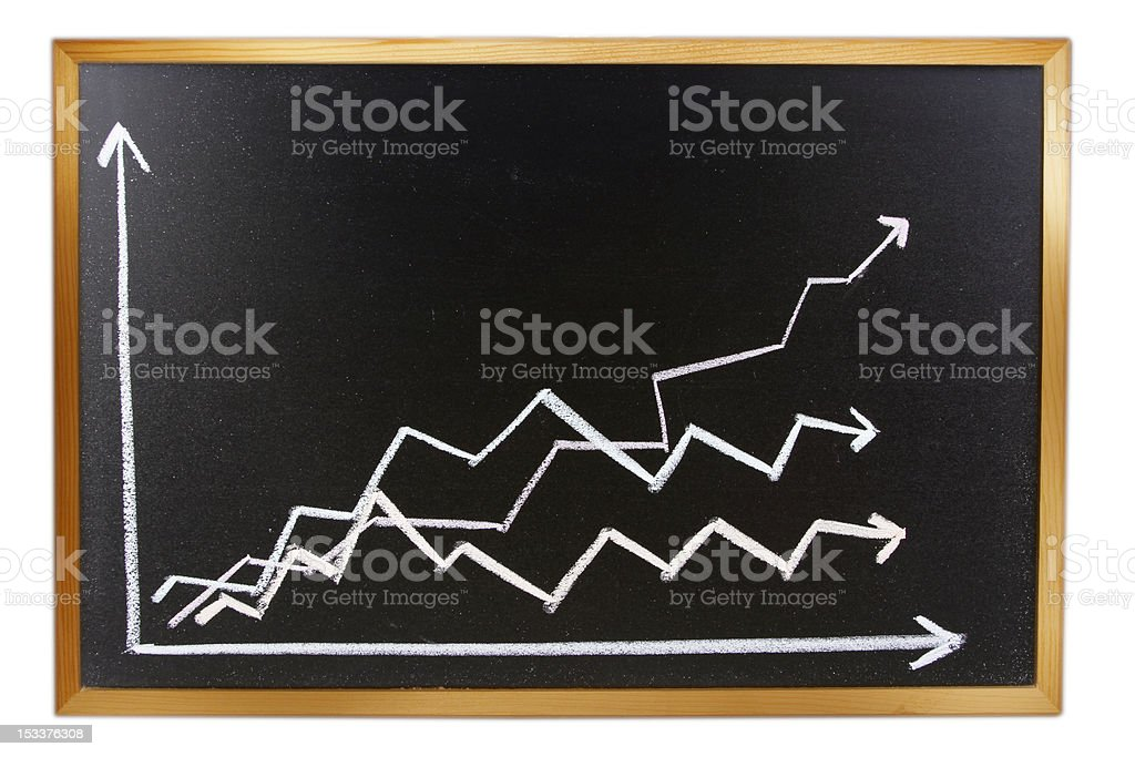 Lines on board royalty-free stock photo