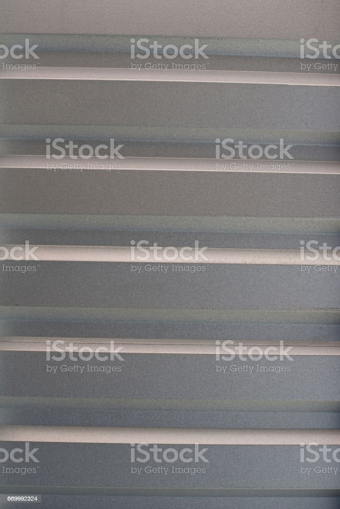 Lines on metal sheet background stock photo