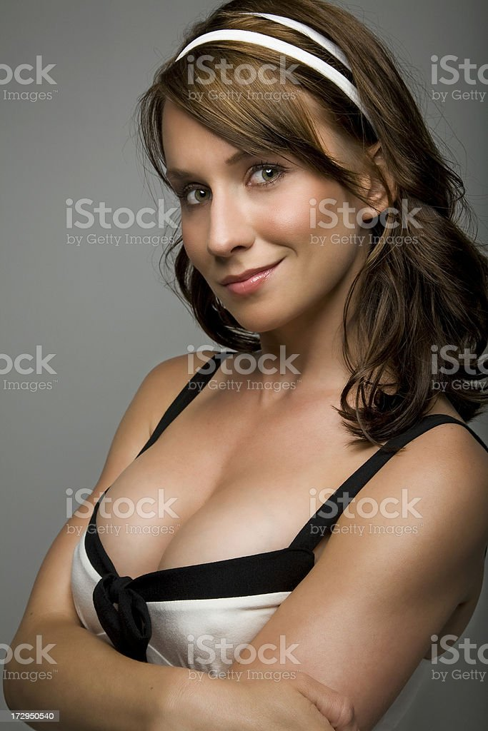 Lingerie Bust royalty-free stock photo