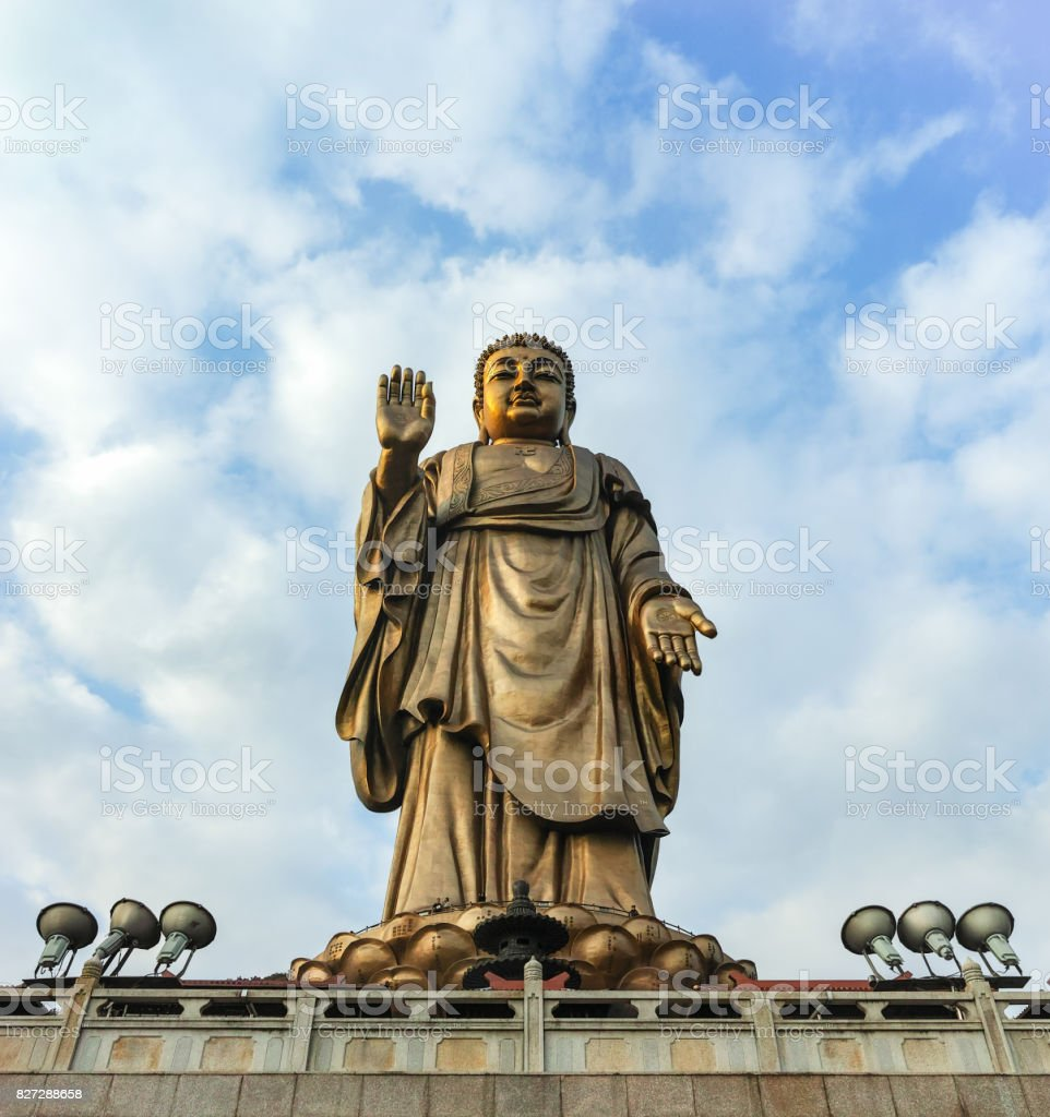 Lingshan Grand Buddha Scenic Area Wuxi China stock photo