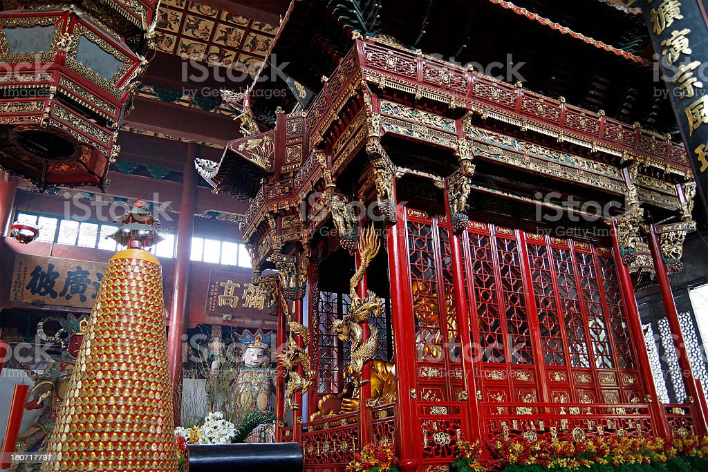 Lingyin Temple royalty-free stock photo