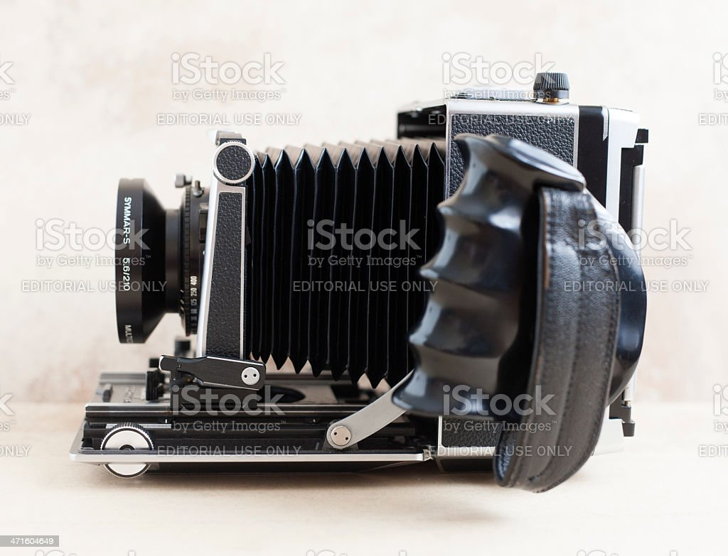 Linhof Master Technika classic Camera 4x5 royalty-free stock photo
