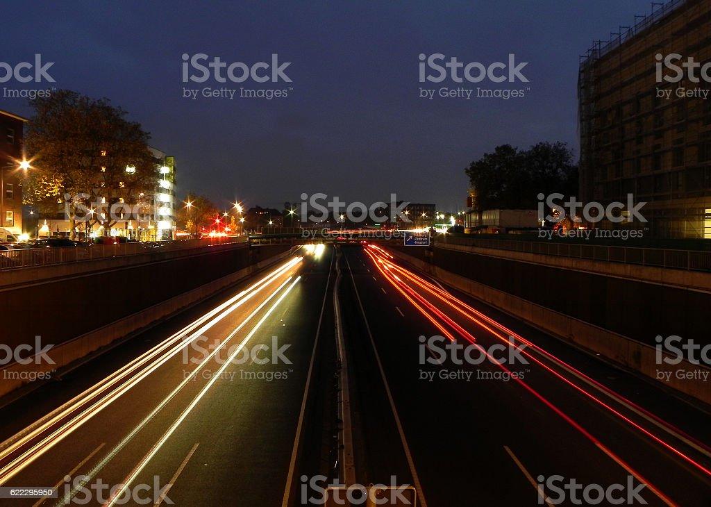 Linienführung stock photo