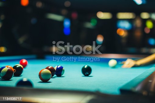istock Lining up the shot 1134535717