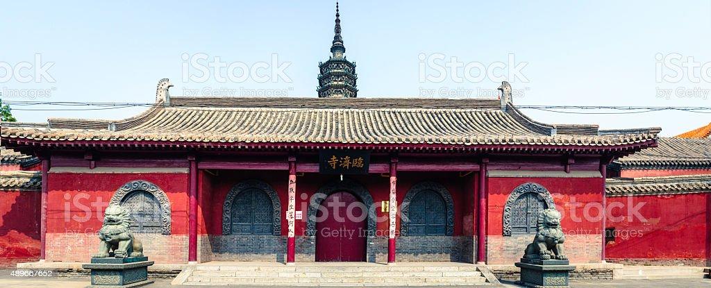 Linji Tempel, der zhengding county – Foto