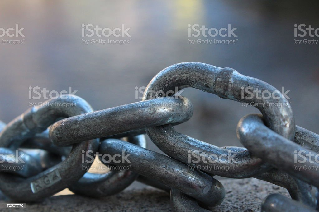 Link of Chain stock photo