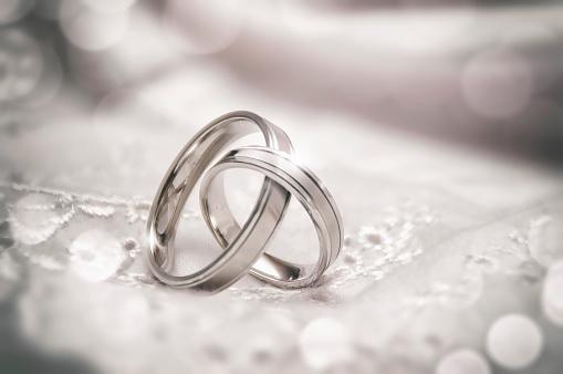 istock Linked Wedding Rings 486506062