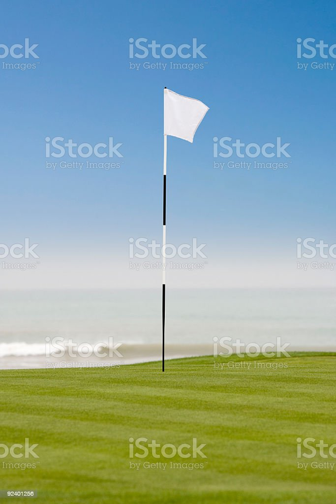 Links golf course stock photo