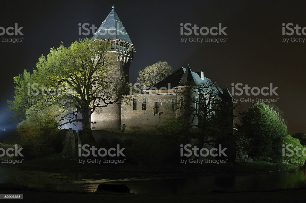linn castle royalty free stockfoto