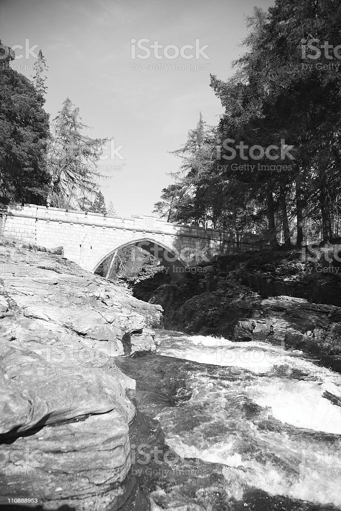 Linn of Dee royalty-free stock photo